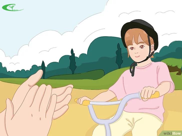 Cách để trẻ nhanh biết đi xe đạp